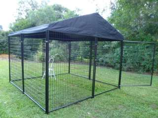 Pet Dog Chicken Pup Cat Enclosure Run Cage Kennel Yard