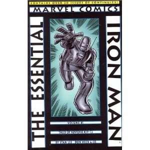 Essential Iron Man [Paperback] Stan Lee Books