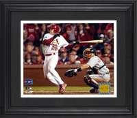 David Eckstein St. Louis Cardinals Unsigned 2006 World Series 8x10