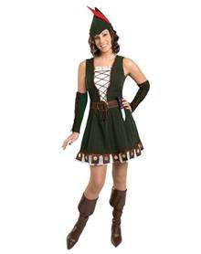 Robin Hood Adult Womens Costume