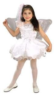 Girls White Angel or Fairy Costume   Fairy Costumes