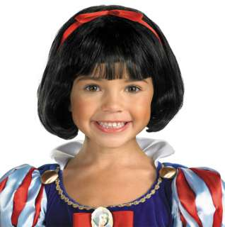 Girls Snow White Costume Wig   Disney Snow White Costumes
