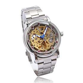 automática de los hombres del deporte mecánico de pulsera reloj