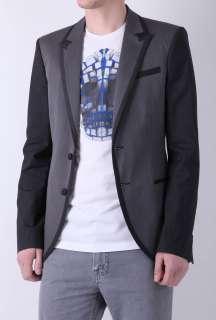 Two Tone Grey Blazer by McQ Alexander McQueen   Grey   Buy Jackets