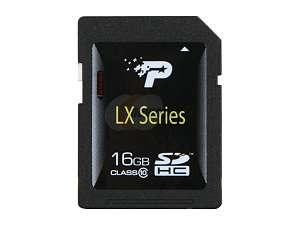 Patriot LX 16GB Secure Digital High Capacity (SDHC) Flash