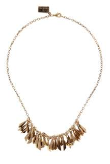 Low Luv by Erin Wasson  Gold Multi Feather Necklace by Low Luv by