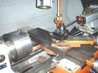 TOS MODEL SN40 GAP BED LATHE W/ READ OUT