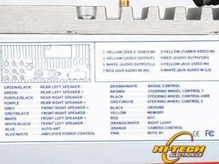 MAZDA 3 7 LCD CAR DVD PLAYER GPS IPOD BLUETOOTH D 1085
