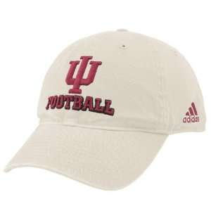 adidas Indiana Hoosiers Stone Football Slouch Hat  Sports
