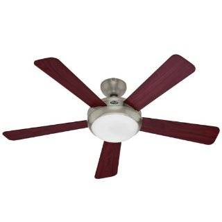 Hunter 25120 Eco Air 52 Inch Single Light 5 Blade Ceiling Fan