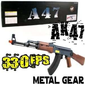 Ak47 Ak 47 Metal Gear Shell Training Airsoft Rifle Gun