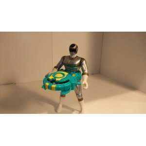 POWER RANGERS Titanium MEGA LAUNCHER POWER RANGER FIGURE Toys & Games