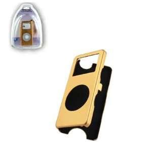 Skin Cover Case for Apple iPod nano 1st generation 1GB 2GB 4GB   Gold