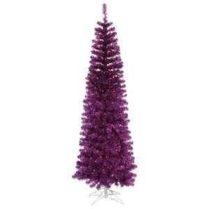 B103676 90 Artificial Pencil Christmas Tree in Purple