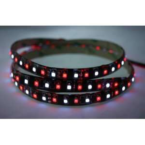 Light Strip   24 Volt Dual Color (Red/White) LED Light Strips for Auto
