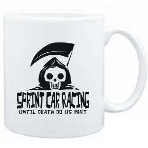 Mug White  Sprint Car Racing UNTIL DEATH SEPARATE US