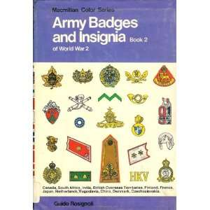 Army Badges and Insignia of World War II, Book 2 (Army Badges
