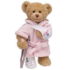 Build A Bear Workshop Feel Better Curly Teddy (girl) Toys