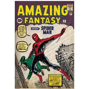 Marvel Comics Retro Amazing Fantasy Comic Book Cover #15