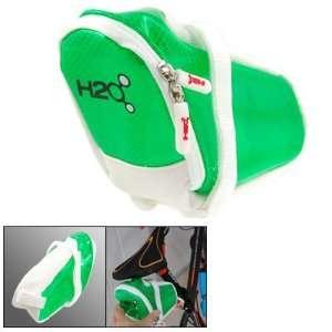Como Cycling Bike Seatpost Zipper Saddle Pouch Bag Grn