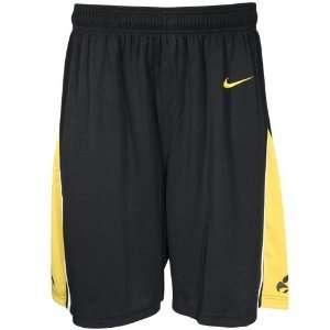 Nike Elite Iowa Hawkeyes Black Replica Basketball Shorts