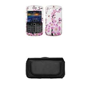 Blackberry Bold 9700 White with Pink Spring Flowers Design