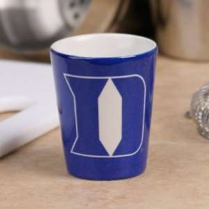 Duke Blue Devils Duke Blue Black Classic Ceramic Shot Glass