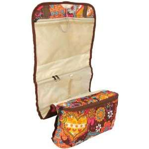 Roll Up Cosmetic Jewelry Travel Bag  Will Hold Lots of Items Beauty