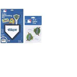 MLB Toronto Blue Jays Layon Cake/Cupcake Decorations