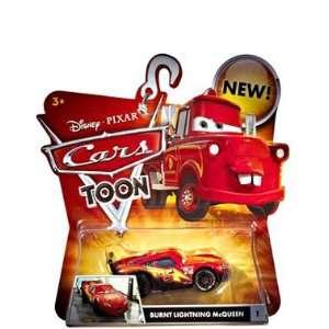 Cars Toons Burnt Lightning McQueen #1 Vehicle Toys