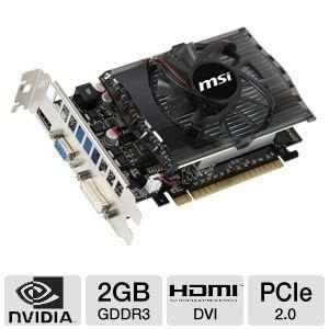 nVidia GeForce GT430 2GB DDR3 VGA/DVI/HDMI PCI Express Video Card