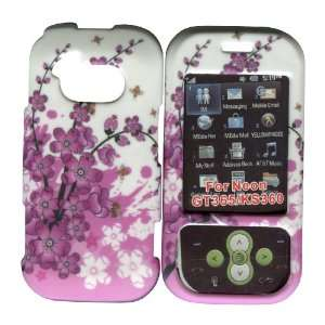 Cherry Blossoms Spring Flowers LG Neon Gt365 & Ks360 Hard Case Snap on