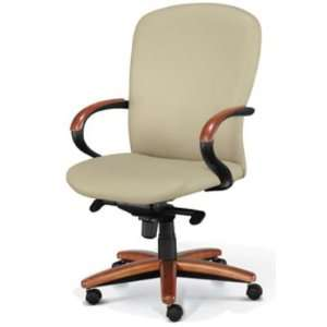Chromcraft Inspire Wood, High Back Executive Office Conference Chair