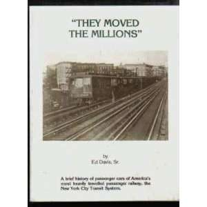 Railway, The New York City Transit System: Ed Davis Sr.: Books