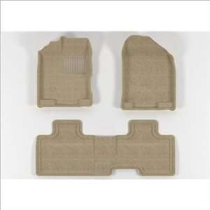 L1FR02002202 FORD Edge 2007 2011 Beige CLASSIC Molded Floor Mats
