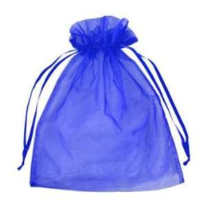 12 x 14 Royal Blue Organza Favor Bags 10 Pack Fabric: Everything Else