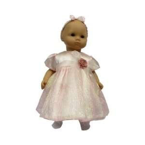 American Girl Doll Clothes Bitty Pink Shimmer Dress Toys