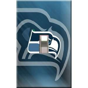 Seattle Seahawks Decorative Single Light Switchplate Cover