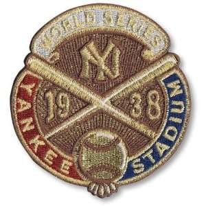 York Yankees World Series MLB Baseball Patches Cooperstown Collection