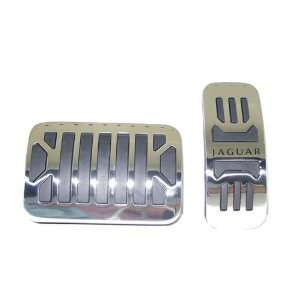 OEM Accessory Gas and Brake Pedal Stainless Steel Covers Automotive