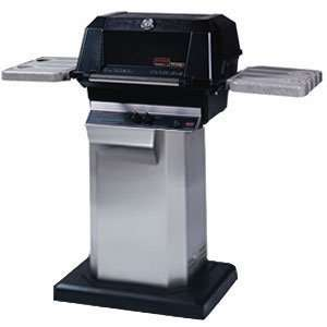 MHP Heritage Propane Grill on Patio Deck Base Mount Sports & Outdoors