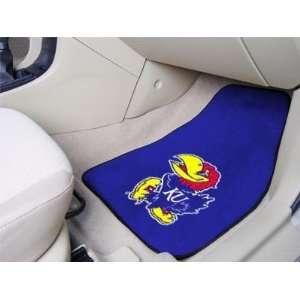 Kansas KU Jayhawks Carpet Car/Truck/Auto Floor Mats