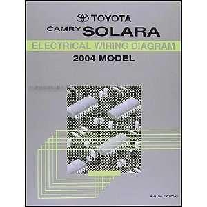 2004 Toyota Camry Solara Wiring Diagram Manual Original Toyota Books