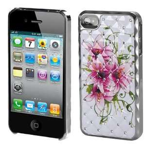 Cover with Diamonds for Apple iPhone 4S/4 Cell Phones & Accessories