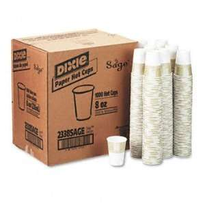 Dixie® SageTM Collection Hot Drink Cups CUP,PAPER 8OZ,HOT