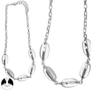 CRYSTAL TRANSPARENCY FASHION JEWELRY / HAIR ACCESSORIES OVAL Jewelry
