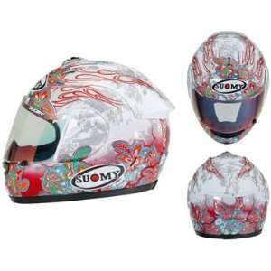 Suomy Extreme Flowers Motorcycle Helmet