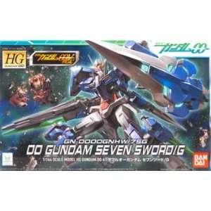 00 Gundam Seven Sword/G HG (Snap Plastic Figure Model) Toys & Games