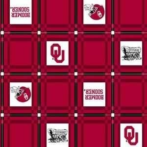 45 Wide Collegiate Tailgate Vinyl Tablecloth University of Oklahoma