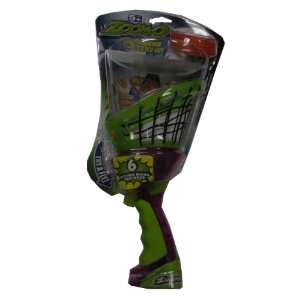 Zoom O Disc Launcher with Catch Net   Purple and Green